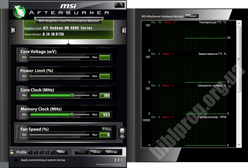 MSI Afterburner 4.2.0.7826