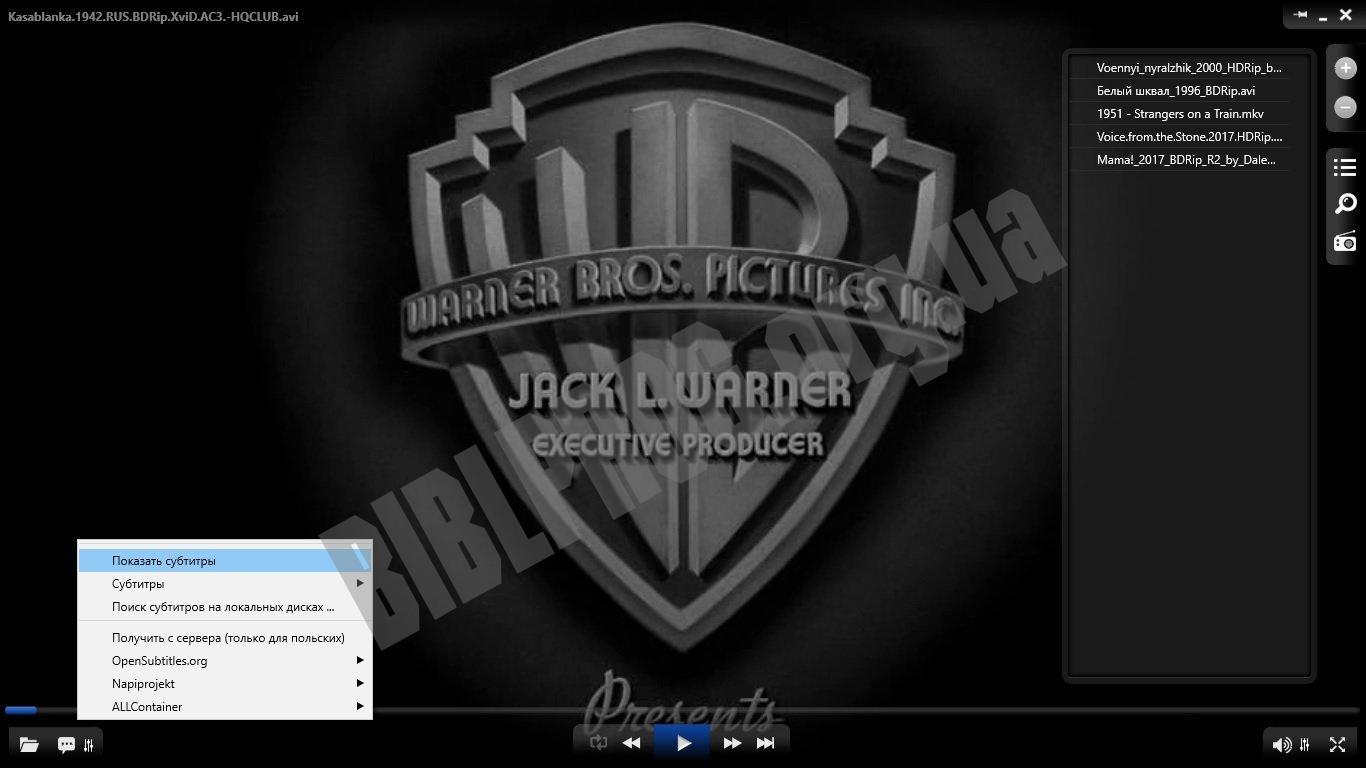 Скриншот ALLPlayer