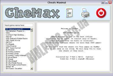 Скриншот CheMax