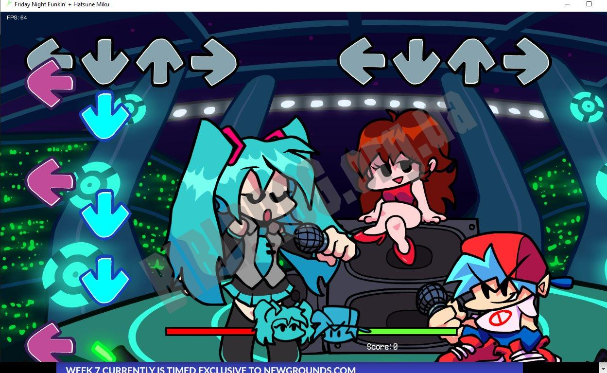 Скриншот FNF: Hatsune Miku