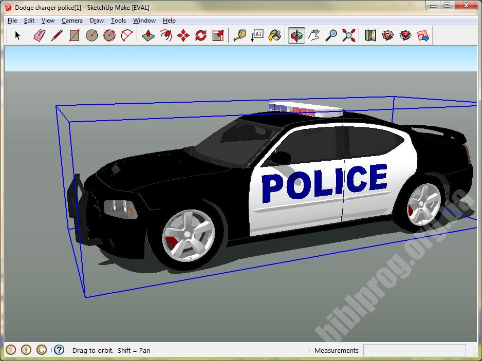 Скриншот SketchUp Make