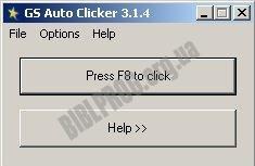 Скриншот GS Auto Clicker