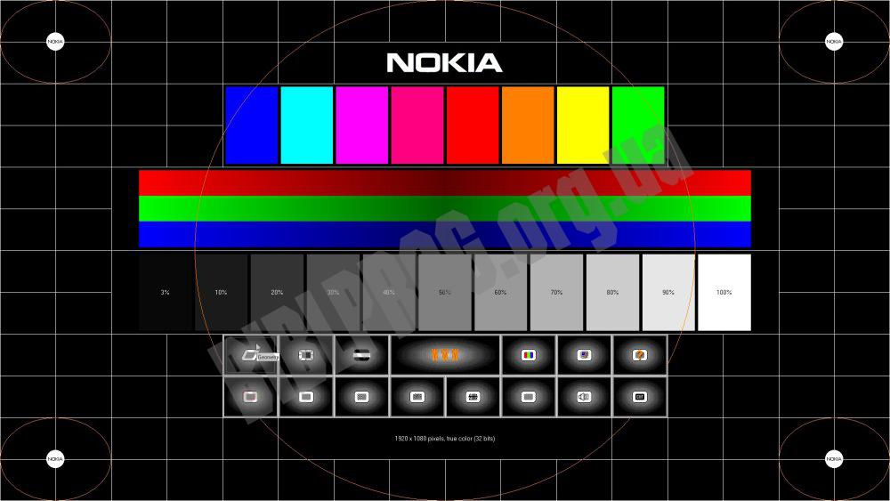 Скриншот Nokia Monitor Test