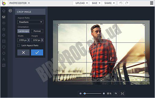 Скриншот Photo! Editor