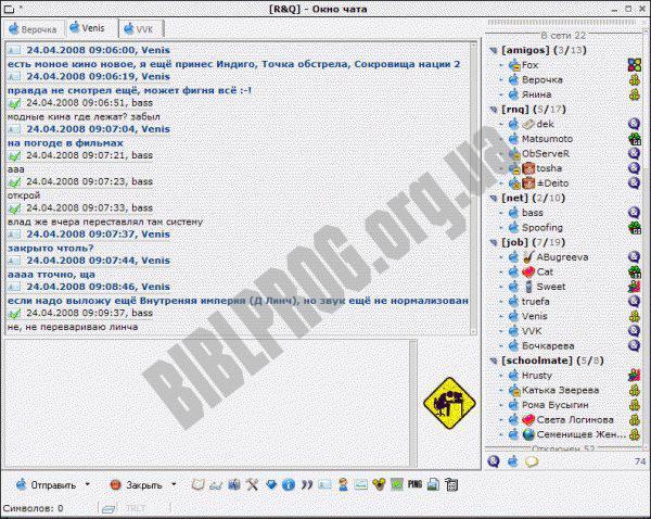 Скриншот R&Q