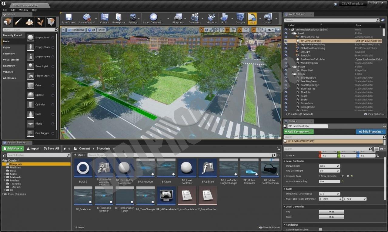Скриншот Unreal Engine